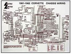 1961 1962 corvette diagram electrical wiring