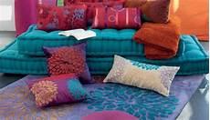grand coussin de sol coussin de sol 50 cm etna orange d co textile eminza the