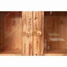 l antica soffitta antica soffitta vetrinetta legno massello naturale