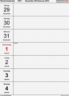 word buch vorlage din a5 gut wochenkalender 2015 als pdf