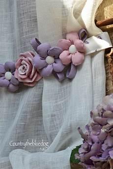 fiori per tende proven 231 al country tende in preziosissimo lino con inserti