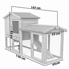 gabbia per conigli usata gabbia per conigli conigliera pollaio con tetto xl