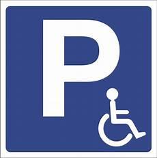 panneau parking handicapé logo handicap 233 parking sanotint light tabella colori