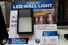 outdoor wall light costco costco sale lights of america led outdoor wall light 9 99 frugal hotspot