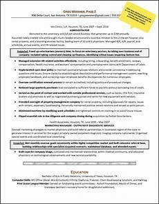 resume sle career change