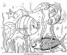 verschiedene fische 43 gratis malvorlage in fische tiere