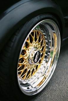 Amazing Bbs Rs Gold With Machined Lip Jdm