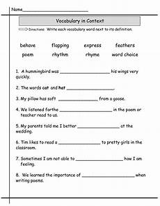 second grade worksheets learning printable
