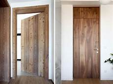 Porte Interieur En Bois Massivholz Zimmert 252 Ren Aus Nussbaum Und L 228 Rchenholz