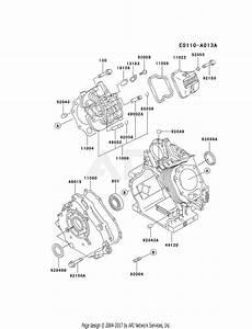 Kawasaki Fe350d Bs12 4 Stroke Engine Fe350d Parts Diagram