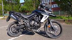 triumph tiger 800 xca start up and sound