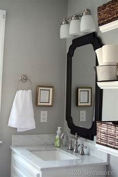 grey walls contemporary bathroom glidden fossil grey 320 sycamore