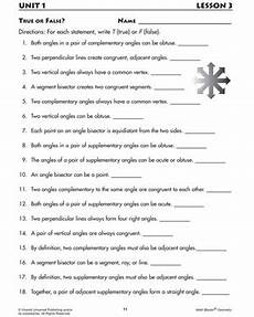 true or false printable geometry worksheets angles for 7th graders math blaster