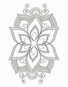 mandala flower coloring pages difficult 17895 big flower simple symmetric mandalas mandala coloring pages zen doodle patterns flower doodles