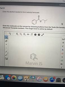 what type of molecule is needed to form protein molecules solved draw the alcohol needed to form isobutyl benzoate chegg com