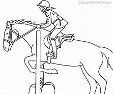 show jumping coloring pages at getcolorings