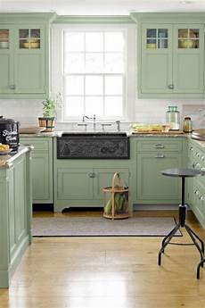 Light Green Kitchen 15 green kitchen cabinets design photos ideas inspiration