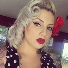 Vintage Pin Up Hairstyles For Hair
