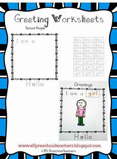 greetings worksheet year 3 19136 esl efl preschool teachers greetings theme resources for ell