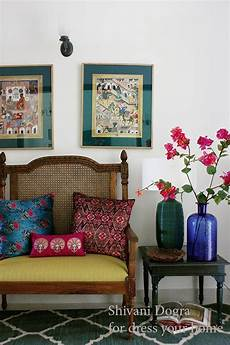 Living Room Ethnic Indian Home Decor Ideas by Vibrant Indian Homes Traditional Indian Homes Indian