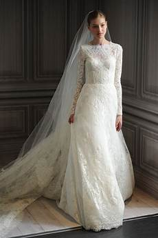 vintage lace a line wedding dress with long sleevescherry