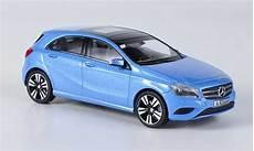 mercedes classe a miniature w176 bleu 2012 schuco 1 43