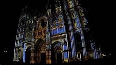 Rouen Cathedral Light Show Vikings 1
