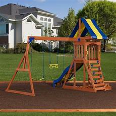 swing sets providence wooden swing set playsets backyard discovery