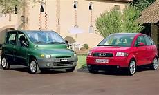 fiat multipla audi a2 classic cars autozeitung de