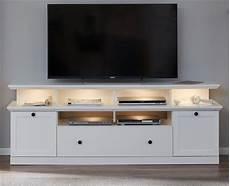 tv podest fernsehtisch tv unterteil tv lowboard in wei 223 landhaus 177