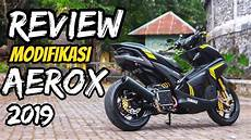 R Modif Simple by Review Modifikasi Aerox 2019 Simple Part 1