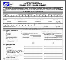 sss aplication form how to download sss forms online sss inquiries