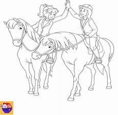 malvorlagen bibi und tina mit pferd tiffanylovesbooks