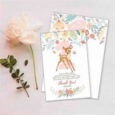 recipe card template deer 7 thank you card wording ideas a template to make