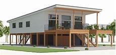 modern stilt house plans house design house plan ch536 4 stilt house plans