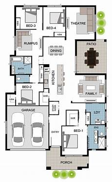 house plans townsville entertainer 1a coloured floor plan grady townsville