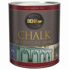 behr 1 qt white interior chalk decorative paint 710004 best chalk paint chalk paint behr