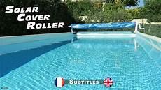 enrouleur bache 224 bulles pour piscines hors sol