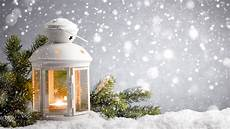 photo lantern nature winter snow candles branches 1920x1080