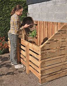 Fabriquer Un Composteur En Bois De Palette