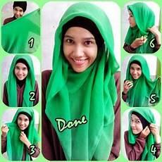 Cara Memakai Jilbab Segitiga Yang Simpel Tutorial