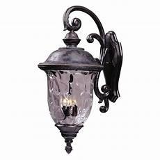 lighting carriage house vx bronze outdoor wall light 40498wgob destination