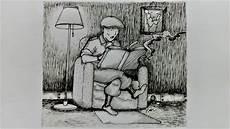 Sketsa Gambar Orang 2 L Timelapse Drawing L Ilustrasi