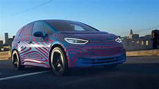 volkswagen id 3 2020 electric car teased car news