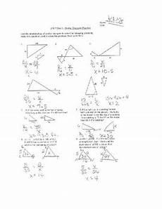 word problems similar triangles worksheets 11155 geometry unit 9 solve similar triangles and word problems worksheet