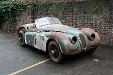 jaguar xk120 value rusted jaguar xk120 competition roadster sells for 163 85 000