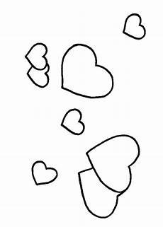 Malvorlage Gratis Liebe Viele Herzen 2 Ausmalbild Malvorlage Liebe