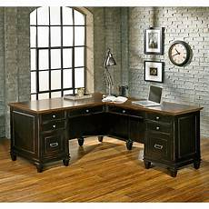 l shaped home office furniture kathy ireland home by martin furniture hartford 3 piece l