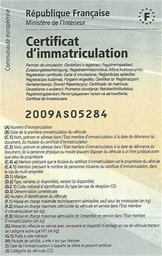 certificat provisoire d immatriculation ants carte grise et immatriculation fourgon d occasion
