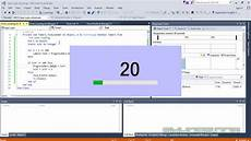 cara membuat form loading keren di visual basic youtube